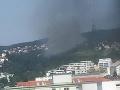 AKTUÁLNE Požiar na bratislavskej Kolibe: V pohotovosti sú dve desiatky hasičov