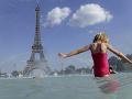 Horúčavy vo Francúzsku.