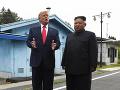 Donald Trump sa stretol s Kim Čong-unom