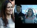 Incident počas historickej návštevy: VIDEO Trumpova hovorkyňa skončila so zraneniami