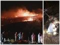 Na dovolenkovom ostrove Cyprus vybuchla zablúdená raketa: VIDEO Bol na nej nápis v ruštine