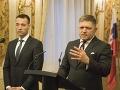 Tomáš Drucker a Robert Fico