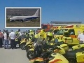 Obrovská záchranná akcia na letisku v Izraeli: VIDEO Lietadlo so 152 ľuďmi muselo núdzovo pristáť