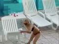 Šialená blondínka predviedla v hoteli na Ibize otrasné divadlo na FOTO: Škandalózna reakcia turistov
