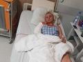 Ivanna Bagová skončila po autonehode v nemocnici so zlomenou rukou.