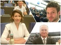 Europoslaneckí nováčikovia v Štrasburgu: FOTO Vzrušenie i nespokojnosť, takto hodnotia prvý deň