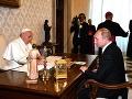 Pápež František už po tretíkrát prijal vo Vatikáne ruského prezidenta