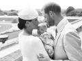 Harry a Meghan pokrstili syna Archieho.