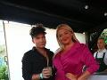 Evelyn s módnym návrhárom Milanom Švingálom