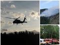 AKTUÁLNE Prírodná skaza pokračuje: VIDEO Hasiči pri Brezne bojujú s plameňmi v nedostupnom teréne