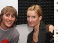 """Matej """"Sajfa"""" Cifra v rádiu moderoval rannú šou s Adelou Banášovou."""