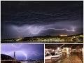 Chorvátsko zasiahlo meteorologické cunami: VIDEO Dovolenkový raj Slovákov hlási povodne