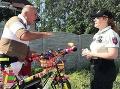 FOTO Muža v Poprade zbadáte na sto honov: Z pohľadu na jeho bicykel je nadšená aj polícia