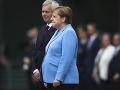 Angela Merkelová mala ďalší záchvat triašky: VIDEO Odborník vyslovil podozrenie na vážnu chorobu