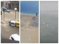 Krúpy veľké ako pomaranče šokovali turistov: Búrka spustošila talianske pláže, VIDEO pohromy