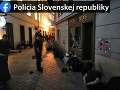Polícia zadržala takmer 80 osôb.