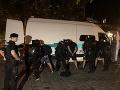 Polícia sa vyjadrila, že voči narušiteľom verejného poriadku chcú postupovať nekompromisne.