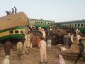 VIDEO Havária vlaku v Pakistane: Pri nešťastí zomrelo 11 ľudí, 30 osôb sa zranilo