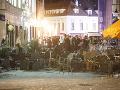 Všadeprítomný zápach testosterónu po bitke v centre Bratislavy: Ako dôkaz poslúžia kamerové záznamy