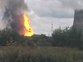 V elektrárni v Moskovskej oblasti vypukol požiar: VIDEO obrovských plameňov