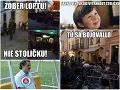 Bitka chuligánov v Bratislave terčom ostrých vtipov: