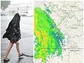 O chvíľu nás zasiahnu búrky: MAPA hrozia aj krúpy, cez víkend bude ešte horšie!