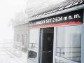 Na Slovensko prichádza skutočná zima: Na Lomnickom štíte namerali mínus 20 stupňov Celzia