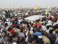 Masové demonštrácie v Sudáne: Ľudia bojujú proti násilnostiam polície