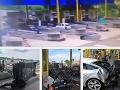 Hororové VIDEO z mýtnice v Chorvátsku: Šialenec na BMW vletel v obrovskej rýchlosti do dovolenkárov
