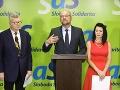 SaS: Dohoda opozičných strán musí obsahovať stop Smeru-SD, SNS a ĽSNS