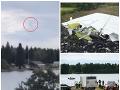 Letecká tragédia ochromila Švédsko: Mrazivé VIDEO zachytáva posledné sekundy pred pádom, deväť mŕtvych