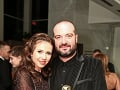 Ivan Tásler s exmanželkou Aničkou