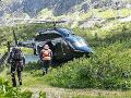 Horskí záchranári si neoddýchli ani dnes: V Terchovej pomáhali unavenej turistke
