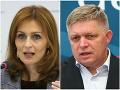 Fico posiela Kalavskej tvrdý odkaz: Ak neschvália jej zákon, mala by zvážiť svoje pôsobenie