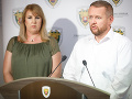 Prezidentka finančnej správy Lenka Wittenbergerová a generálny riaditeľ sekcie boja proti podvodom a analýzy rizík Ladislav Hanniker