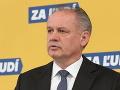 Exprezident Kiska reaguje na Kresákov návrh: V politike mi nikdy nešlo o žiadne peniaze ani výhody