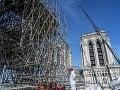 Obavy v Paríži narastajú: Katedrále Notre-Dame reálne hrozí zrútenie stropov