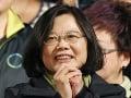 Taiwanskú prezidentku Cchaj Jing-wen