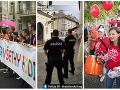 Dúhový Pride aj pochod za rodinu: FOTO Bratislavu čakajú dopravné obmedzenia, na toto sa pripravte
