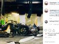Škoda zhorených áut sa vyštverala na vyše 780 000 eur.