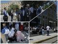 MIMORIADNE Zemetrasenie v Aténach: VIDEO Ľudia so strachom vybiehali do ulíc