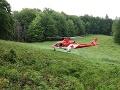 Horskí záchranári opäť v akcii: Pomáhali mužovi, ktorý dostal epileptický záchvat