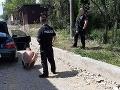 Šialenec (37) znepríjemňoval život obyvateľom Pereša, po zásahu polície skončil v cele
