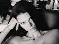 Najchudšia Kardashianka celkom nahá: Predviedla sa v plnej paráde, aha!