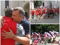 Danko aj prívrženci Kotlebu: FOTO z pochodu za tradičnú rodinu, zúčastnili sa stovky ľudí