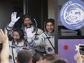 Kapsula dosiahla zemský orbit deväť minút po štarte z Bajkonuru