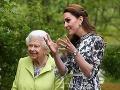 Kate Middletona aj samotná