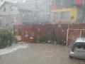 Blesková povodeň v obci Vydrník