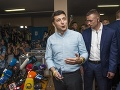 Ukrajinský prezident Volodymyr Zelenskyj počas volebného dňa