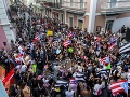 Obyvatelia v Portoriku sa vzbúrili: Guvernér Rosselló odstupuje a nebude viac kandidovať